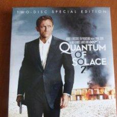 Cine: QUANTUM OF SOLACE - MARK FOSTER, CON DANIEL CRAIG (JAMES BOND)(EDICION SPECIAL 2 DVD. BUEN ESTADO. Lote 211656419