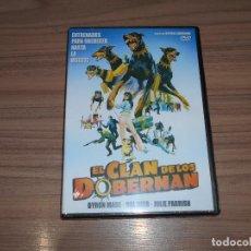 Cine: EL CLAN DE LOS DOBERMAN DVD NUEVA PRECINTADA. Lote 222318130