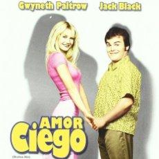 Cine: AMOR CIEGO (GWYNETH PALTROW, JACK BLACK) - DVD NUEVO Y PRECINTADO. Lote 211668648