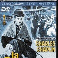 Cine: LA QUIMERA DEL ORO (CHARLES CHAPLIN) - DVD NUEVO Y PRECINTADO. Lote 211669230
