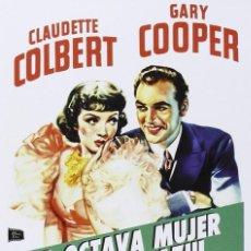 Cine: LA OCTAVA MUJER DE BARBA AZUL (CLAUDETTE COLBERT, GARY COOPER) - DVD NUEVO Y PRECINTADO. Lote 211669336