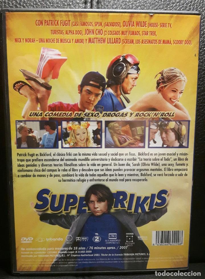 Cine: SUPER FRIKIS - DVD - ORIGINAL - DESCATALOGADA - OLIVIA WILDE - SUPERFRIKIS - NO USO CORREOS - Foto 2 - 211724121