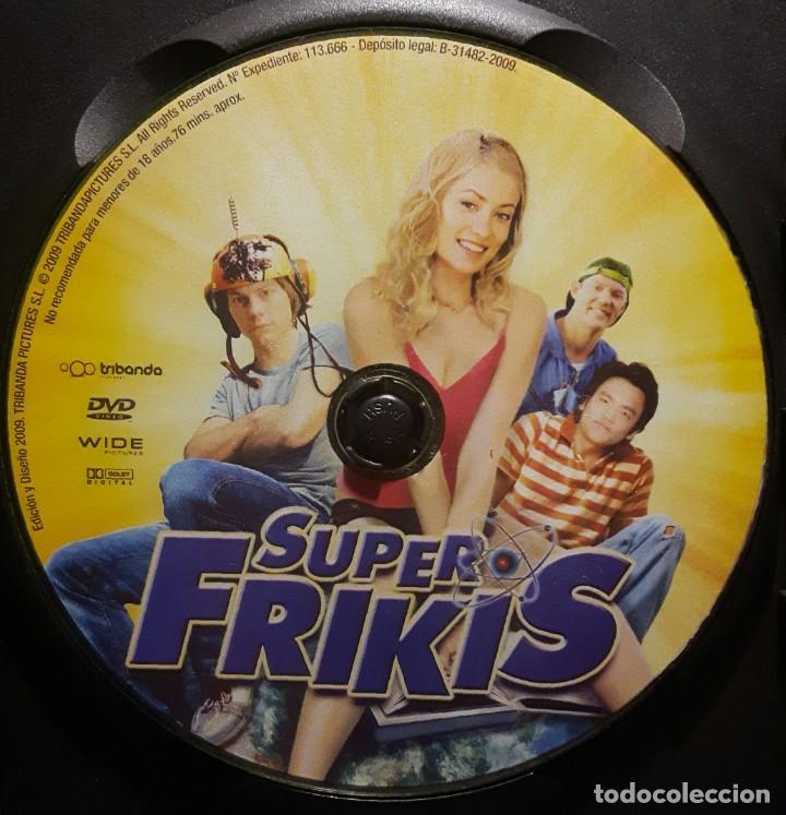 Cine: SUPER FRIKIS - DVD - ORIGINAL - DESCATALOGADA - OLIVIA WILDE - SUPERFRIKIS - NO USO CORREOS - Foto 4 - 211724121