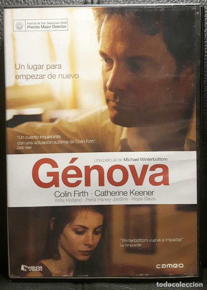 GENOVA - DVD - ORIGINAL - DESCATALOGADA - COLIN FIRTH - WILLA HOLLAND - NO USO CORREOS (Cine - Películas - DVD)