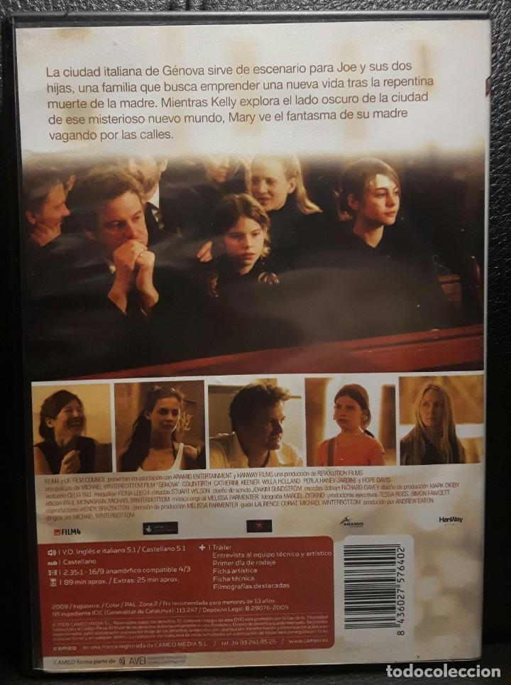 Cine: GENOVA - DVD - ORIGINAL - DESCATALOGADA - COLIN FIRTH - WILLA HOLLAND - NO USO CORREOS - Foto 2 - 211724293