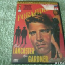 Cine: FORAJIDOS / BURT LANCASTER - UN CLASICO DEL CINE NEGRO OBRA MAESTRA. Lote 211728148