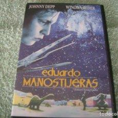 Cine: EDUARDO MANOSTIJERAS / JOHNNY DEPP. Lote 211729116