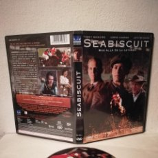 Cine: DVD ORIGINAL - SEABISCUIT MÁS ALLÁ DE LA LEYENDA - DVD - GARY ROSS. Lote 211734881