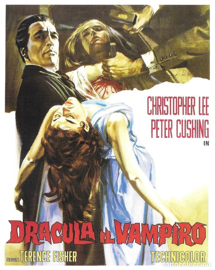Cine: DRÁCULA - TERENCE FISHER - 1958 + POSTAL REGALO - Foto 2 - 211827292