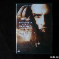 Cine: ENTREVISTA CON EL VAMPIRO - TOM CRUISE - DVD COMO NUEVO. Lote 211835418
