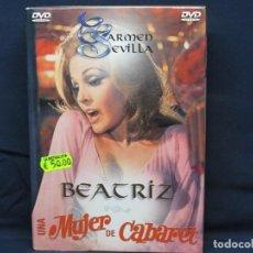 Cine: BEATRIZ - UNA MUJER DE CABARET - DVD. Lote 211903430