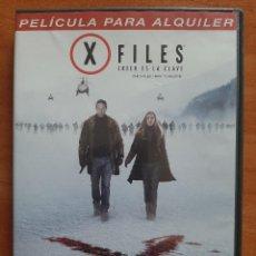 Cine: EXPEDIENTE X - DVD X FILES : CREER ES LA CLAVE. Lote 211905057