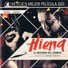 Cine: HIENA EL INFIERNO DEL CRIMEN. Lote 211936281