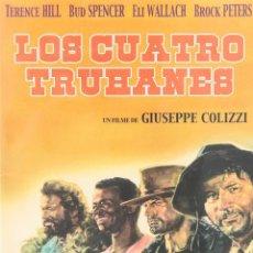Cinema: LOS CUATRO TRUHANES (BUD SPENCER, TERENCE HILL) . DVD NUEVO Y PRECINTADO. Lote 211960890