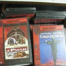 Cine: LA II GUERRA MUNDIAL EN EL CINE. LAS PEQUEÑAS Y GRANDES HISTORIAS. LOTE 66 DVD'S. VER DESCRPCION... Lote 212021625
