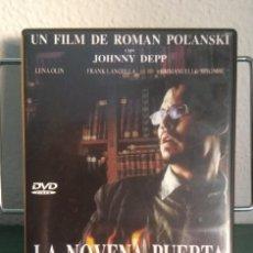 Cine: LA NOVENA PUERTA EN DVD // PROMOCIÓN EN LOS ENVÍOS. LEER DESCRIPCIÓN. Lote 192414100