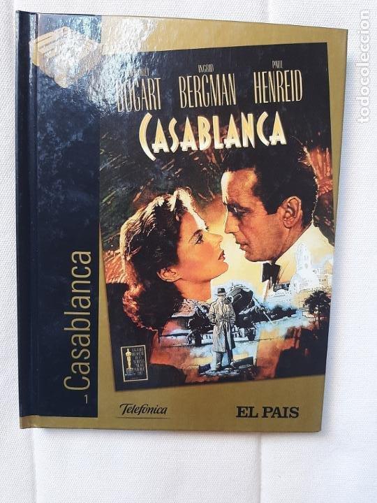 CASABLANCA - MICHAEL CURTIZ - CINE DE ORO EL PAÍS Nº 1 - DISCO-LIBRO (Cine - Películas - DVD)