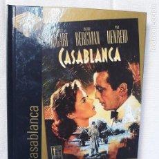 Cine: CASABLANCA - MICHAEL CURTIZ - CINE DE ORO EL PAÍS Nº 1 - DISCO-LIBRO. Lote 212080608