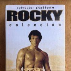 Cine: COLECCION ROCKY EDICION ESPECIAL 25 ANIVERSARIO 5 PELICULAS. Lote 212085653