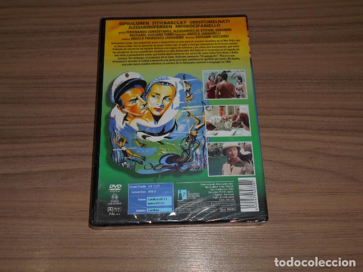 Cine: AFRICA BAJO el MAR DVD Sophia Loren NUEVA PRECINTADA - Foto 2 - 212593502