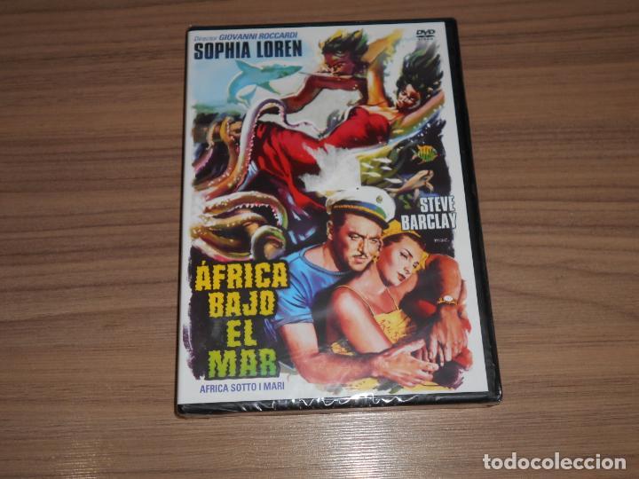 AFRICA BAJO EL MAR DVD SOPHIA LOREN NUEVA PRECINTADA (Cine - Películas - DVD)