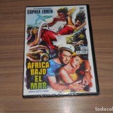 Cine: AFRICA BAJO EL MAR DVD SOPHIA LOREN NUEVA PRECINTADA. Lote 212593502