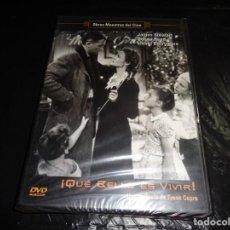 Cine: QUE BELLO ES VIVIR--PRECINTADA--DVD. Lote 212622948