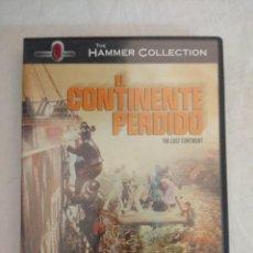 Cine: DVD/EL CONTINENTE PERDIDO/THE HAMMER COLLECTION.. Lote 212700668
