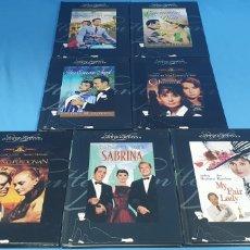 Cine: 7 DVDS Y LIBROS - COLECCIÓN AUDREY HEPBURN. Lote 212758306