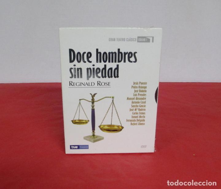 DOCE HOMBRES SIN PIEDAD - REGINAL ROSE - GRAN TEATRO CLASICO TVE DVD 2007 JESUS PUENTE - PRECINTADO (Cine - Películas - DVD)