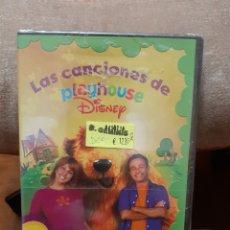 Cine: DVD+CD LAS CANCIONES DE PLAYHOUSE DE DISNEY (ART. NUEVO). Lote 212873376