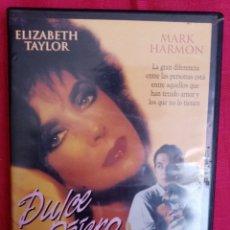 Cine: DVD PELÍCULA 1989 DULCE PÁJARO DE JUVENTUD. ELIZABETH TAYLOR Y MARK HARMON. OBRA: TENNESSE WILLIAMS. Lote 212991528