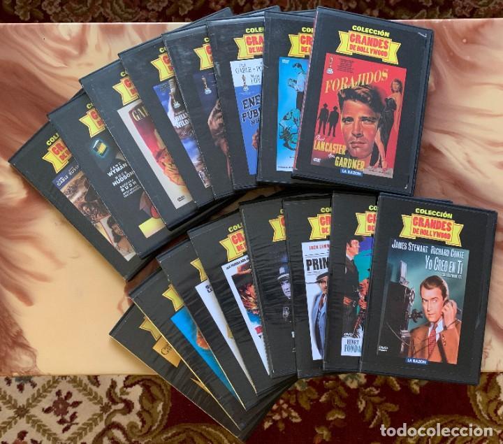 COLECCION GRANDES DE HOLLYWOOD - LOTE DVD - CINE CLASICO - 16 DVD (Cine - Películas - DVD)