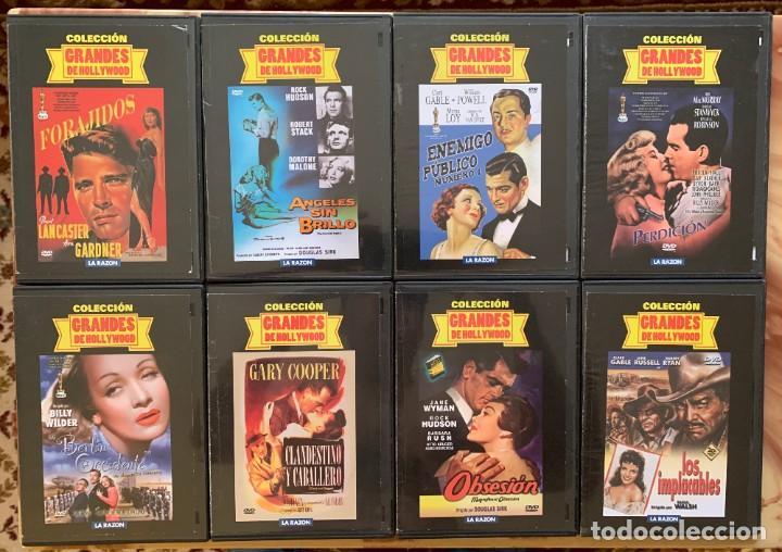 Cine: Coleccion Grandes De Hollywood - Lote DVD - Cine Clasico - 16 DVD - Foto 2 - 213216215
