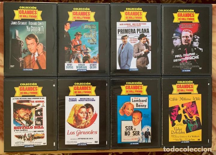 Cine: Coleccion Grandes De Hollywood - Lote DVD - Cine Clasico - 16 DVD - Foto 3 - 213216215