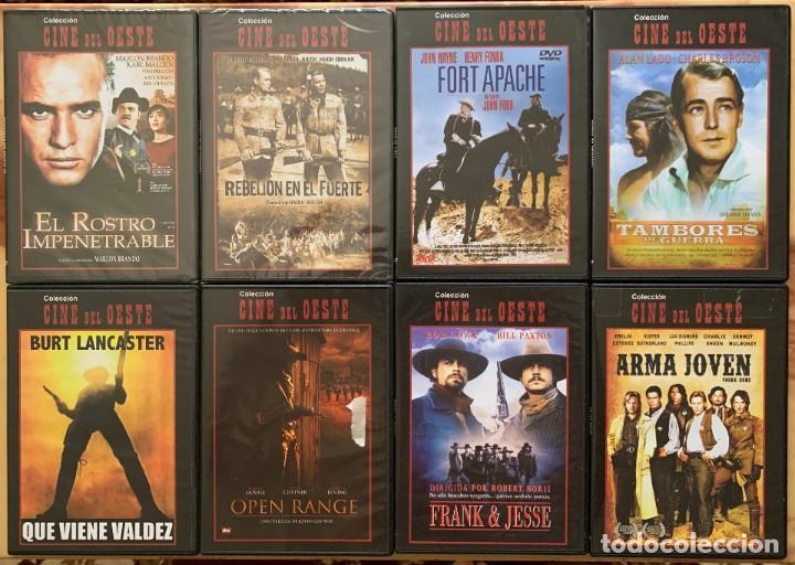 COLECCION CINE DEL OESTE - 8 DVD - CINE WESTERN - CINE CLASICO (Cine - Películas - DVD)