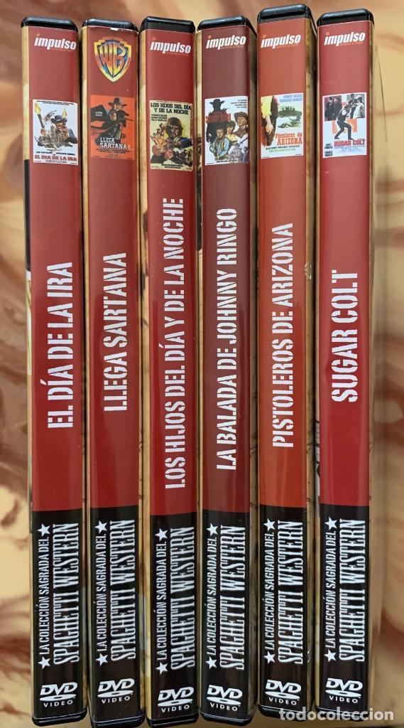 LA COLECCION SAGRADA DEL SPAGHETTI WESTERN - 6 DVD - CINE OESTE - CINE CLASICO (Cine - Películas - DVD)