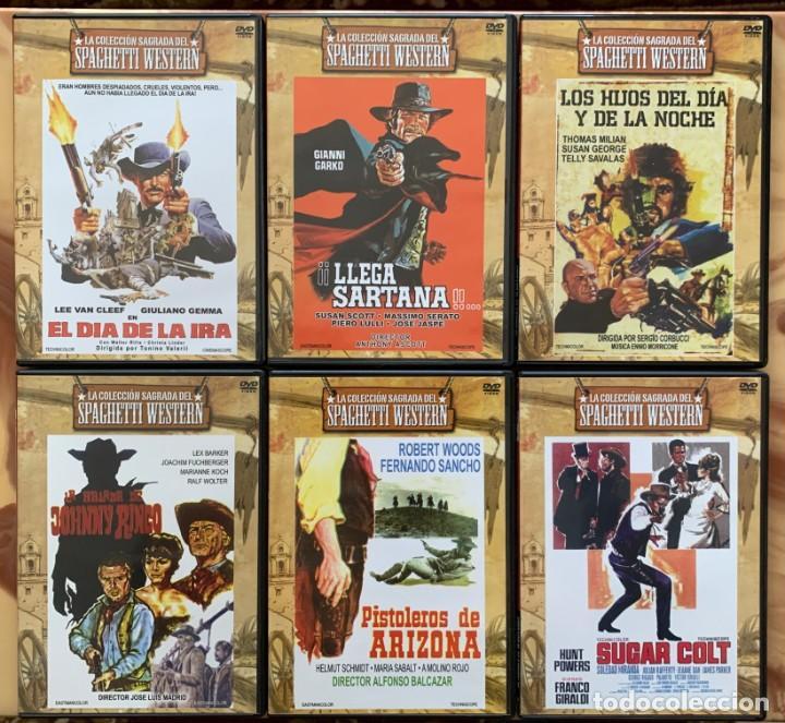 Cine: La Coleccion Sagrada Del Spaghetti Western - 6 DVD - Cine Oeste - Cine Clasico - Foto 2 - 213232655