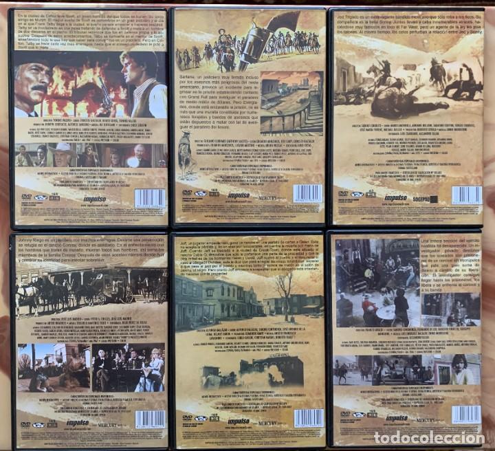 Cine: La Coleccion Sagrada Del Spaghetti Western - 6 DVD - Cine Oeste - Cine Clasico - Foto 3 - 213232655