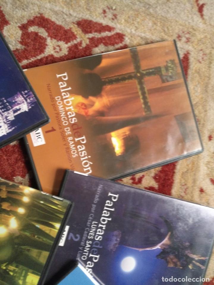 Cine: COLECCION 8 DVD PALABRAS DE PASIÓN SEMANA SANTA SEVILLA PASTORA SOLER CESAR CADAVAL ALVAREZ DUARTE - Foto 2 - 213265322