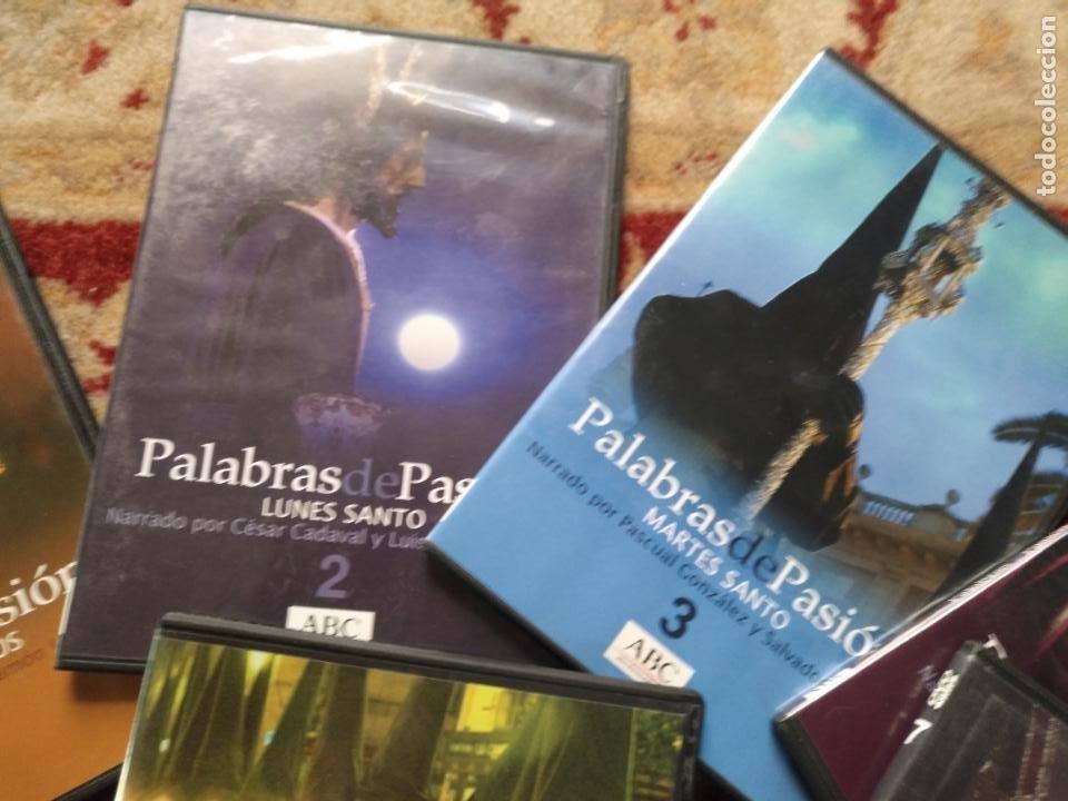 Cine: COLECCION 8 DVD PALABRAS DE PASIÓN SEMANA SANTA SEVILLA PASTORA SOLER CESAR CADAVAL ALVAREZ DUARTE - Foto 3 - 213265322