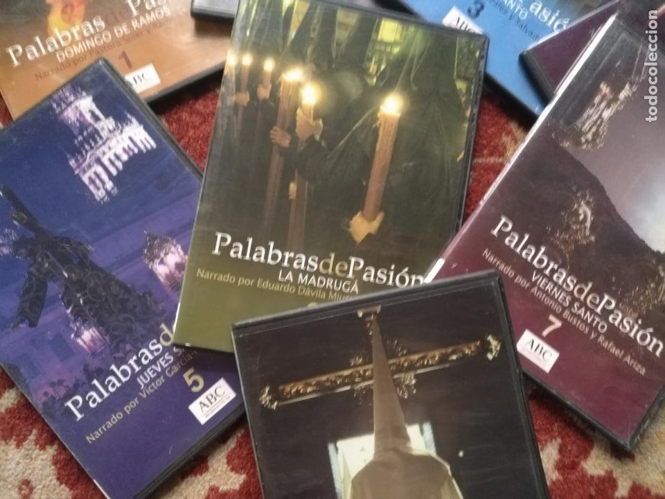 Cine: COLECCION 8 DVD PALABRAS DE PASIÓN SEMANA SANTA SEVILLA PASTORA SOLER CESAR CADAVAL ALVAREZ DUARTE - Foto 5 - 213265322