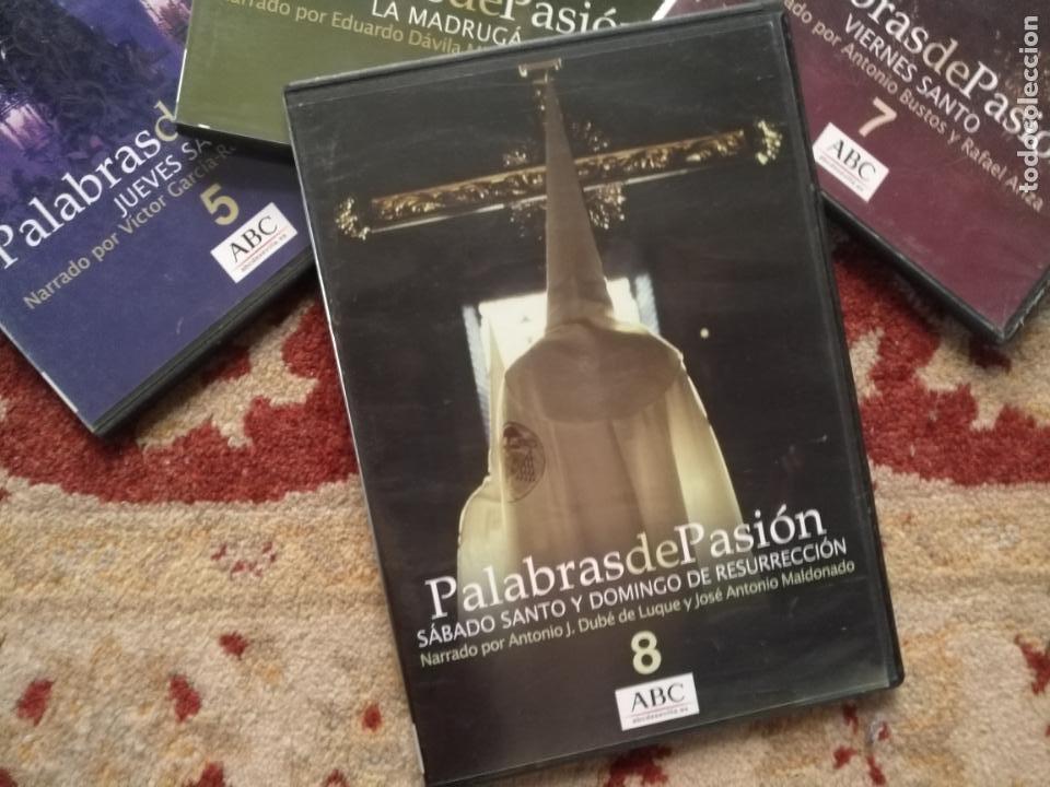 Cine: COLECCION 8 DVD PALABRAS DE PASIÓN SEMANA SANTA SEVILLA PASTORA SOLER CESAR CADAVAL ALVAREZ DUARTE - Foto 7 - 213265322