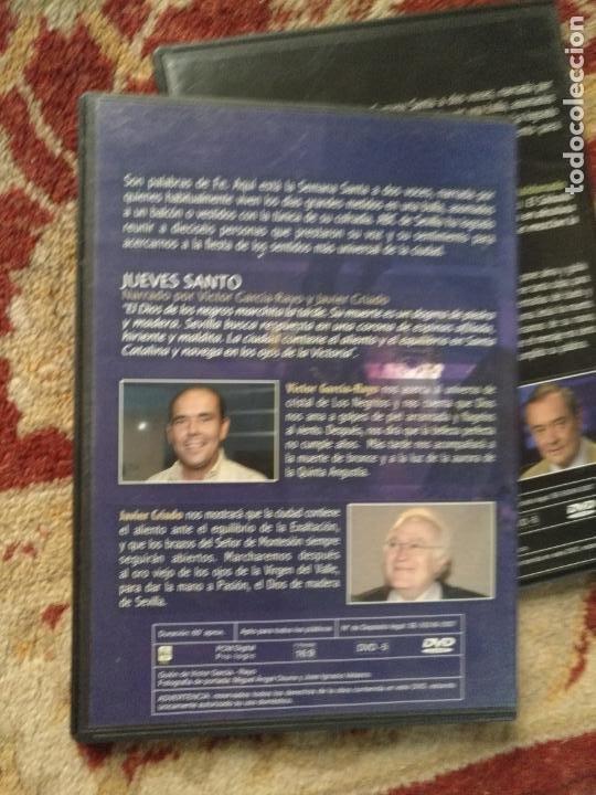 Cine: COLECCION 8 DVD PALABRAS DE PASIÓN SEMANA SANTA SEVILLA PASTORA SOLER CESAR CADAVAL ALVAREZ DUARTE - Foto 8 - 213265322