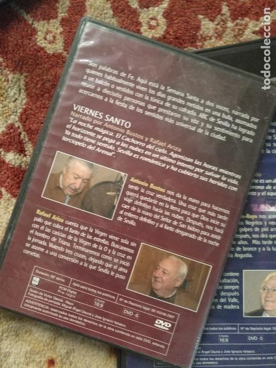 Cine: COLECCION 8 DVD PALABRAS DE PASIÓN SEMANA SANTA SEVILLA PASTORA SOLER CESAR CADAVAL ALVAREZ DUARTE - Foto 9 - 213265322