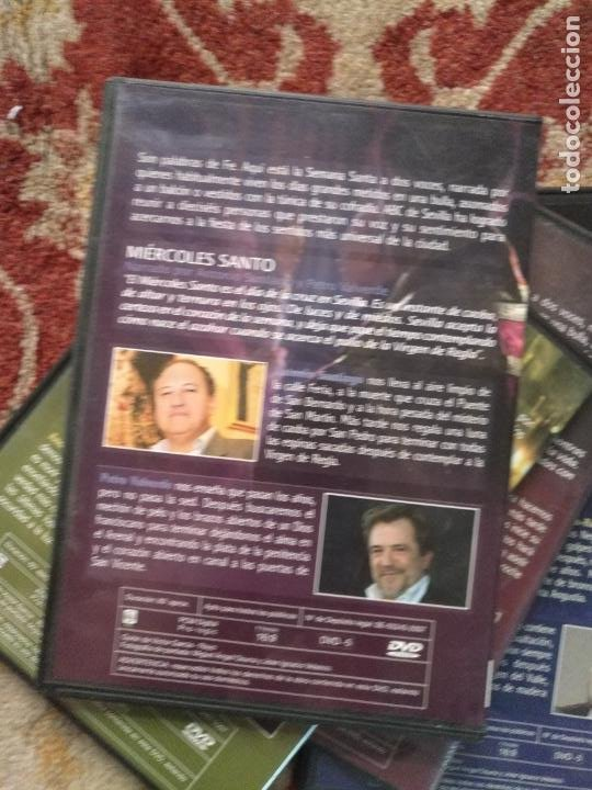 Cine: COLECCION 8 DVD PALABRAS DE PASIÓN SEMANA SANTA SEVILLA PASTORA SOLER CESAR CADAVAL ALVAREZ DUARTE - Foto 10 - 213265322