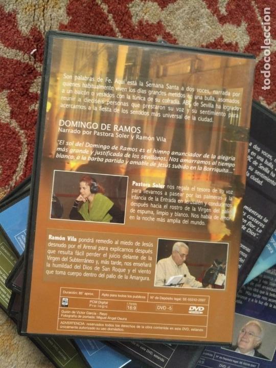 Cine: COLECCION 8 DVD PALABRAS DE PASIÓN SEMANA SANTA SEVILLA PASTORA SOLER CESAR CADAVAL ALVAREZ DUARTE - Foto 13 - 213265322