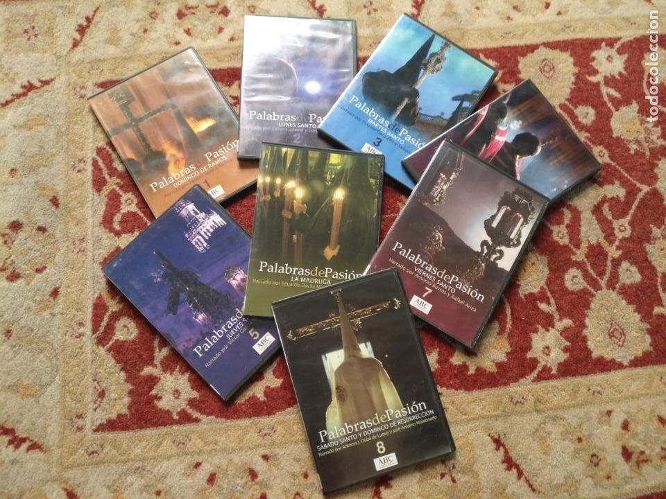 COLECCION 8 DVD PALABRAS DE PASIÓN SEMANA SANTA SEVILLA PASTORA SOLER CESAR CADAVAL ALVAREZ DUARTE (Cine - Películas - DVD)