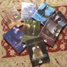 Cine: COLECCION 8 DVD PALABRAS DE PASIÓN SEMANA SANTA SEVILLA PASTORA SOLER CESAR CADAVAL ALVAREZ DUARTE. Lote 213265322