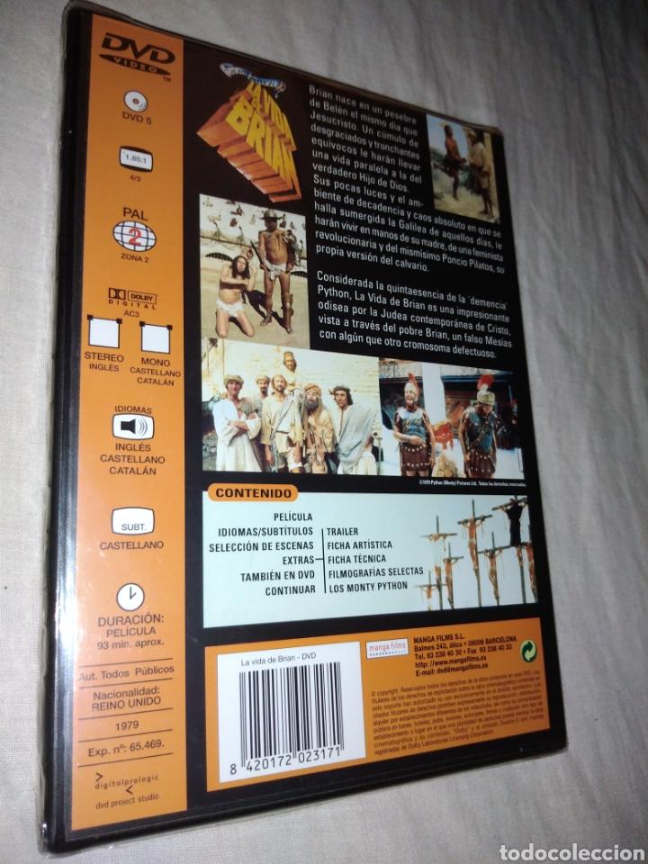 Cine: La vida de Brian DVD cine comedia Monty Python nueva precintada - Foto 2 - 213438003
